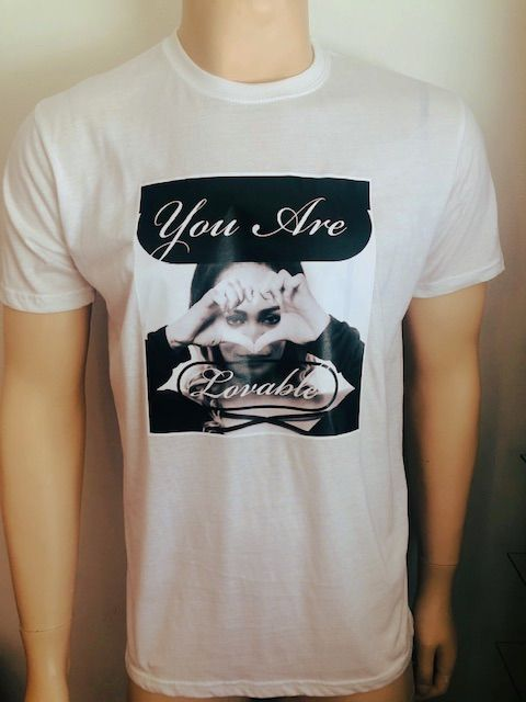 You Are Lovable T-Shirt White