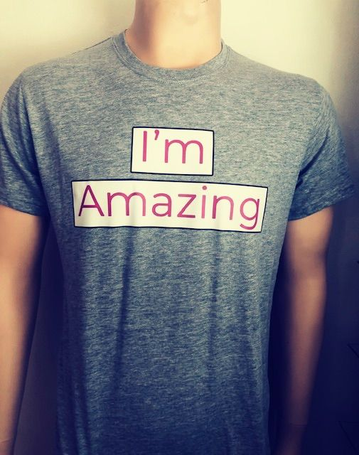 I`m Amazing T-Shirts Grey