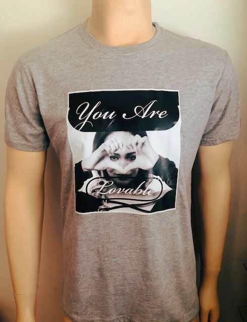 You Are Lovable T-Shirt Grey