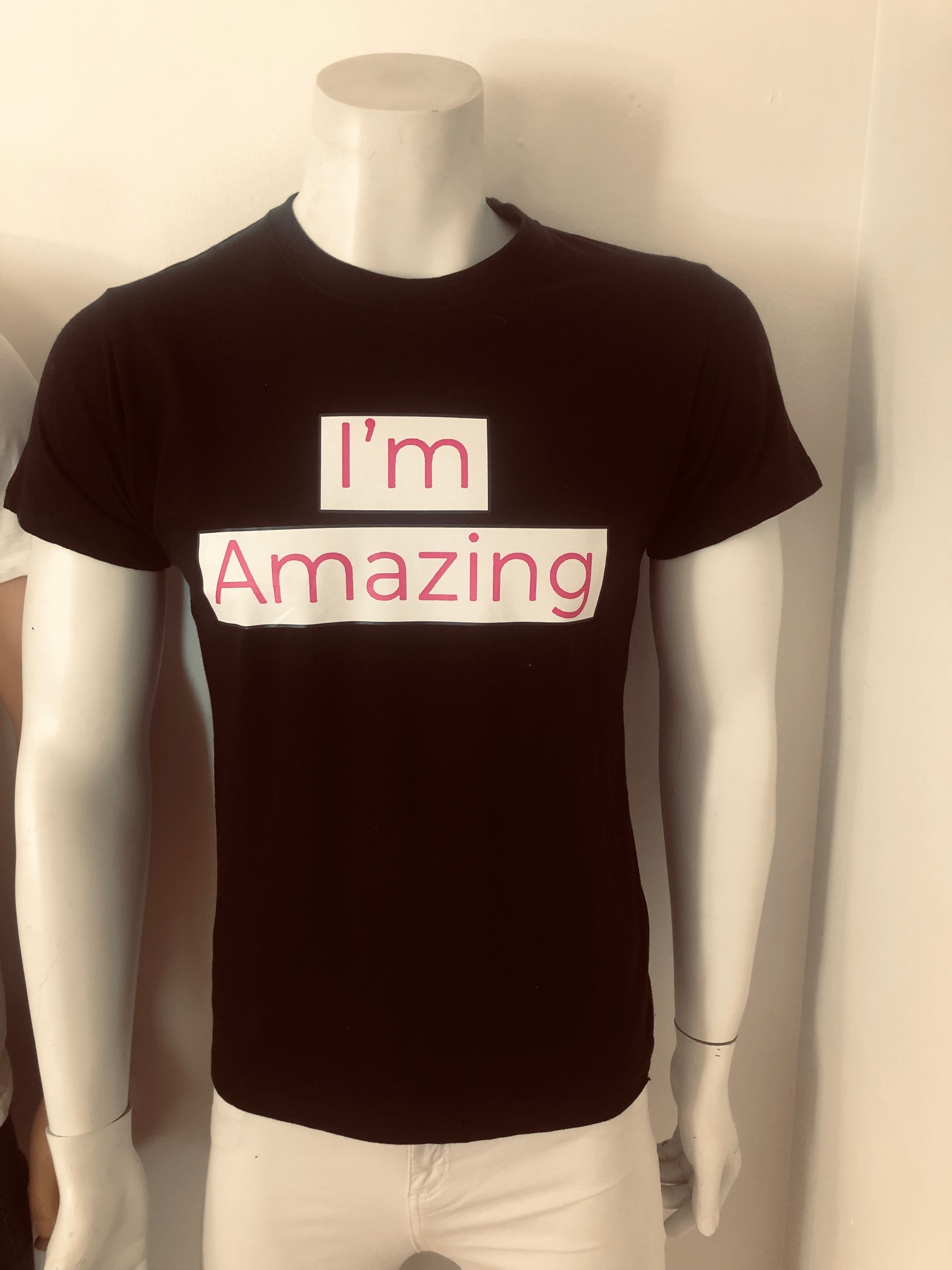 I`m Amazing T-Shirts Black
